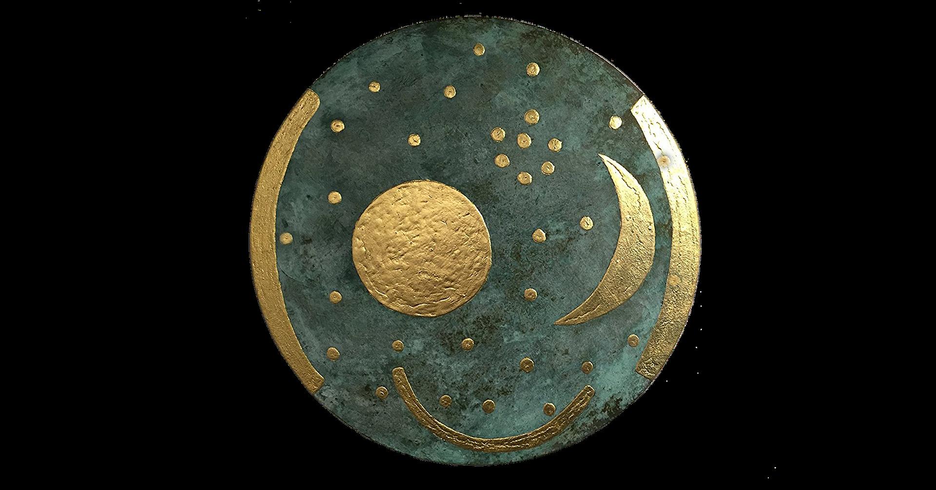 Himmelsscheibe von Nebra um 2000 v.Chr.